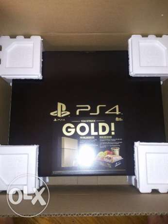 Gold PS4 Brand new sealed