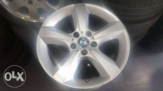Used X5 and X6 Rims and Tires