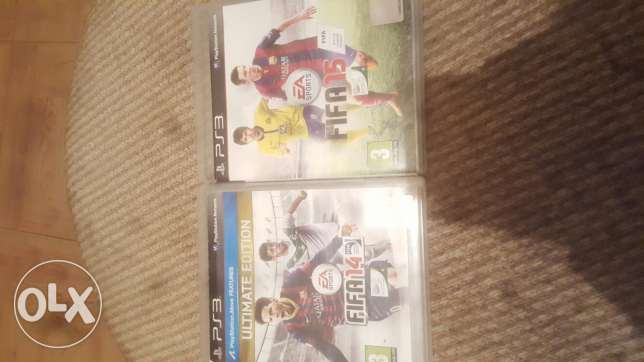 Fifa Ps3 games 14-15 and 16 Available