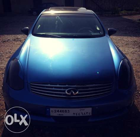 infinity g35 coupe mod 2003 technology verry clean car. الشوف -  6