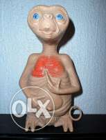 "Vintage 1982 Pull String Talking E.T.Toy Doll 7"" Tall Works"