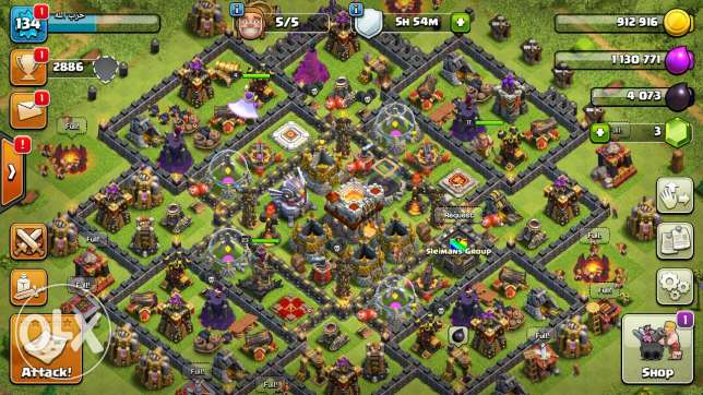 clash of clans twonhall 11 new