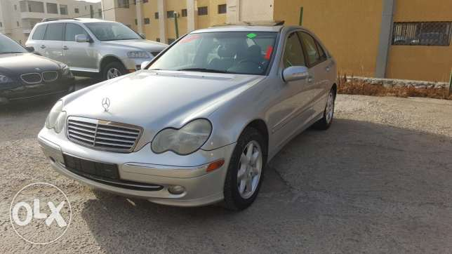 Benz C230 Komprosser Model 2003 Super Clean Full Options