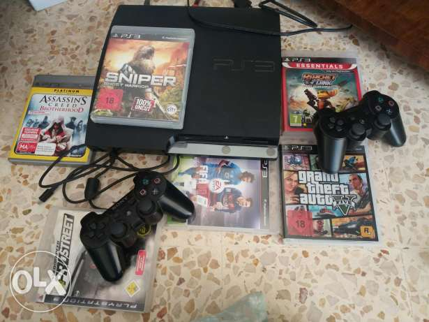 Used ps3 500 gb