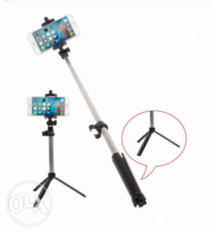 Universal Bluetooth Selfie Stick + Tripod + Shutter Wireless Monopod