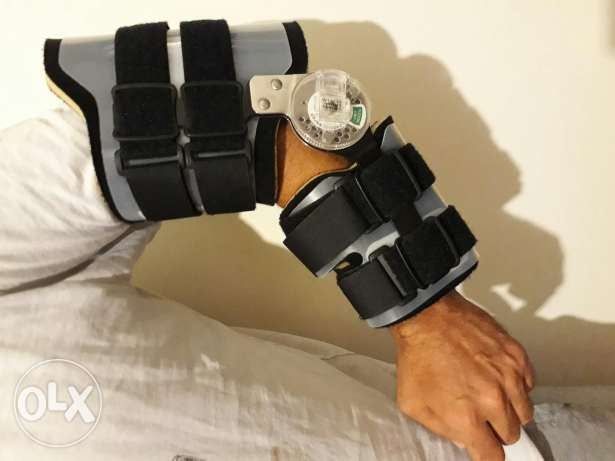 Elbow Brace ROM from 20 to 180 degrees
