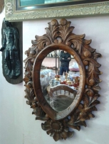 mirror made from wood