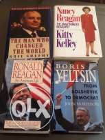 Books in very good condition.Sold each for 10$