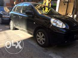 nissan micra 2013 full option ndife ktr