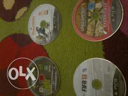 Fifa 13,pro street,uncharted3,shaun white