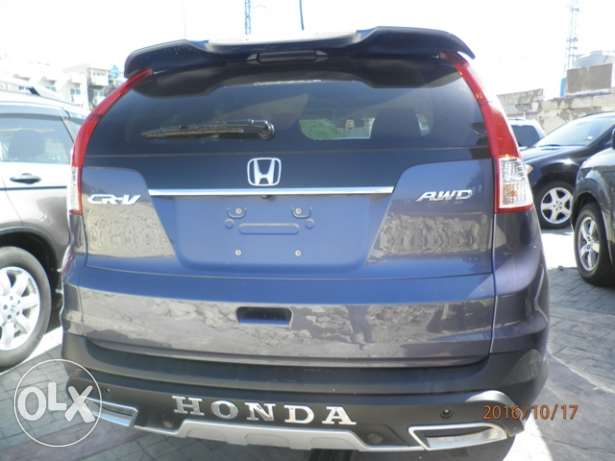 Honda CRV EXL 2012 dark blue clean كسروان -  4