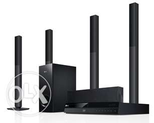 LG 3D Blu-Ray Home Theatre System Sound System