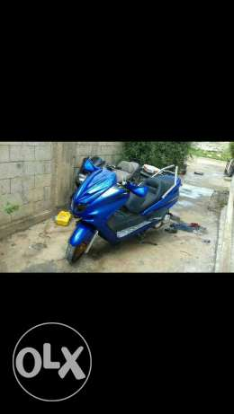 Motorcycle New majsty