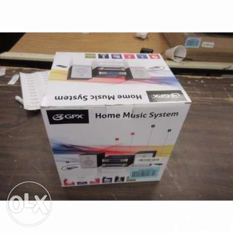 GPX HC221B Home Music System