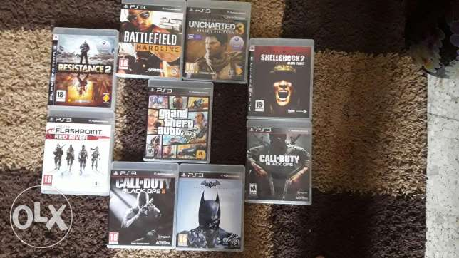 PS3 GAMES FOR SALE or trade 3ala PS4 games