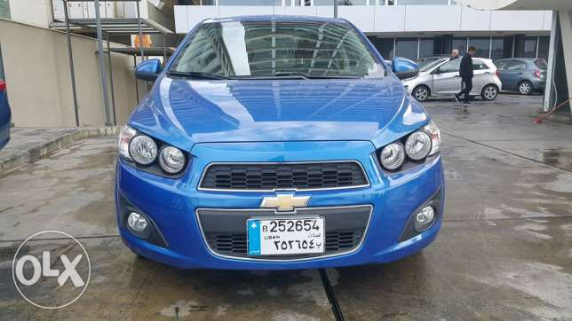 Chevrolet Sonic M. 2012 full option one owner No Accidents perfect
