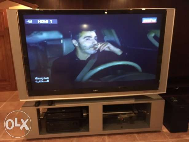 "75"" Sony Projection TV with brand new projection bulb حارة صيدا -  2"