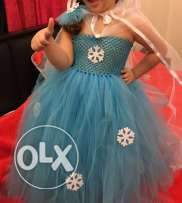 frozen birthday dress (used for 1 time only)