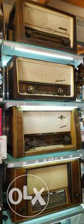 Antique german radios