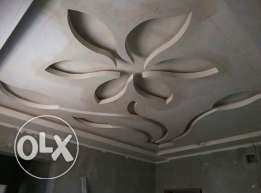 we provide gypsum decoration