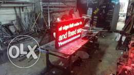 led sign  Other sizes also available on order $