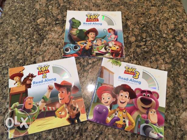 Disney Pixar Toy Story Read-Along storybook & CD