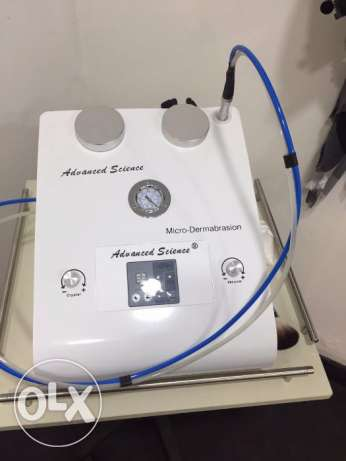 Advanced Science, New Micro- Dermabrasion Machine