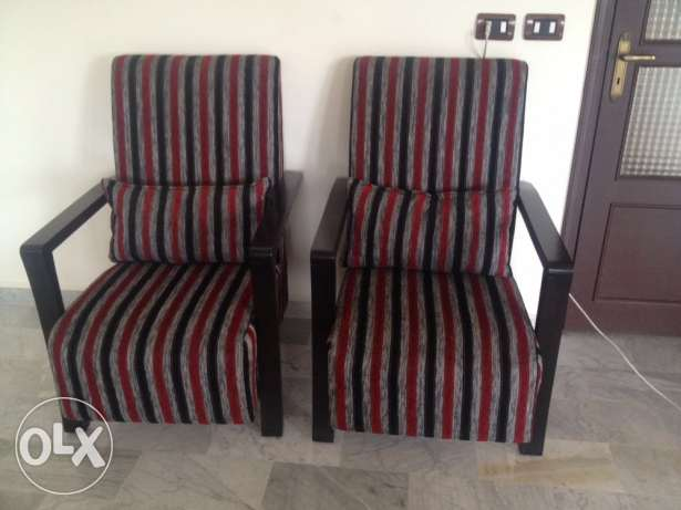 2 chairs in great condition