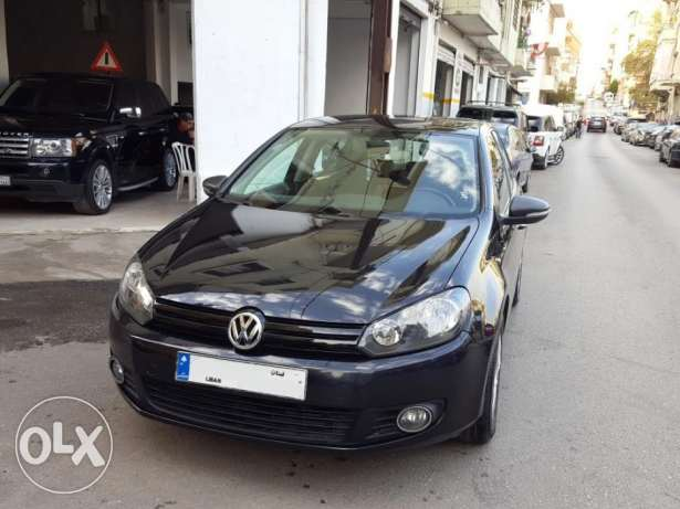 2010 V.W Golf 6 GL 1.6L Black/Black Company Source & Maintenance