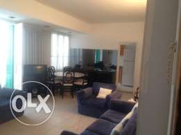 For rent Sassine 110 sqm furnished Apt 1300$