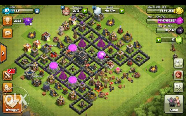 Clash of clans عاليه -  1