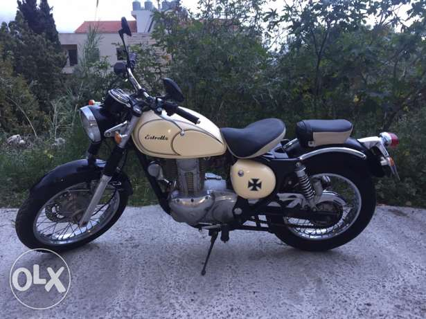 Motorcycle kawasaki estrella for sale كسروان -  1
