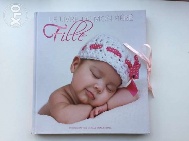 Album souvenir book for baby girl