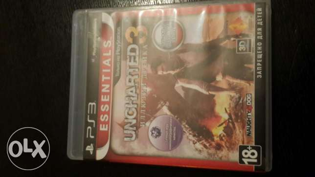 Ps3 game uncharted 3