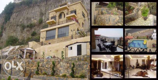 villa for rent in bhamdoun