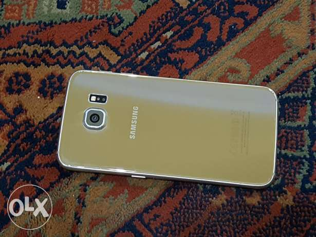 galaxy s6 32gb gold very clean for sell