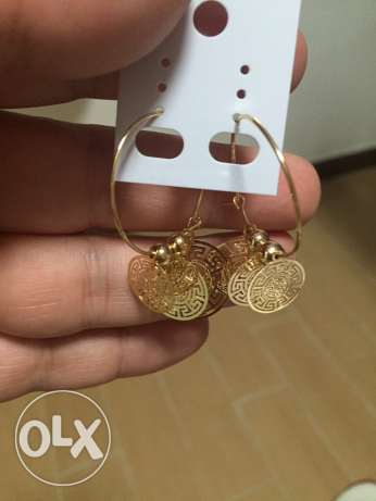 necklace and earings branded غبيري -  7