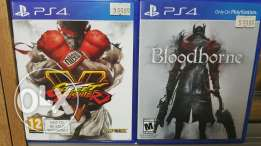Ps4 used sfv and bloodborne