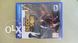 Second Son On PS4 For Sale