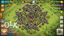 clash of clans th10 almost maxed very good troops I WANT $ ALFA
