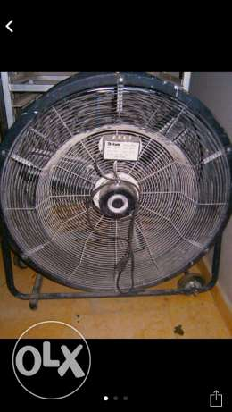 Industrial Fan, Gyms, contracting, painting, design عدة طرش ،مروحة