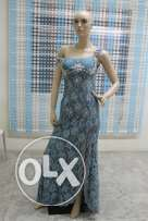 Blue Charming Evening Dress