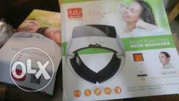 Neck massager.Far infrared heating.health care.Cervical therapy instru