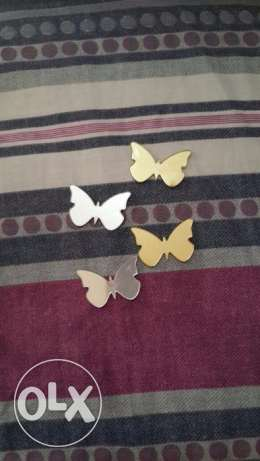 Butterfly Acrylic Mirror Wall Sticker (50 pieces/lot)