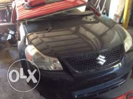 للكسر فقطSUZUKI SX4 cut in 1/2,imported from usa