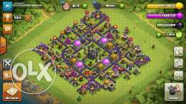 Clash Of Clans Level 91 .. Th 9