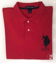 Red color US Polo Association+navy pony+#3.AUTHENTIC from the USA