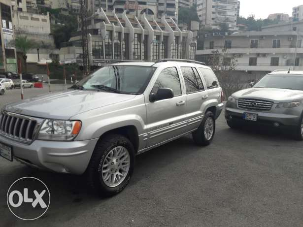 Grand cherokee mod 2004 limited