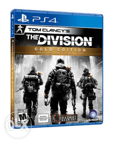 The Division PS4 Brand New Sealed (makhtoume)