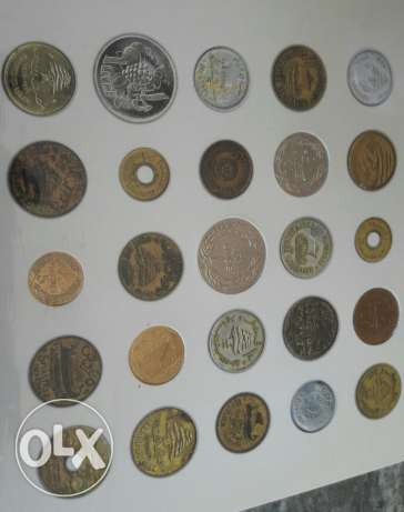 Coins of the Lebanese Republic from 1925 till 1986